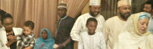 Late Gen. Sanni Abacha's Wife, Maryam Celebrates Birthday with Her Family & Friends (Photos)
