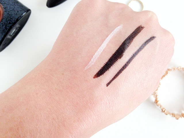 Maybelline Master Ink and Master Precise Curvy Eyeliner Swatches