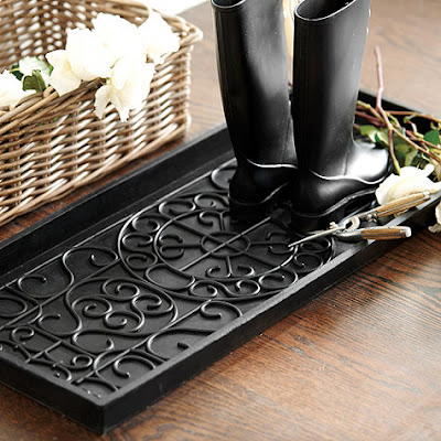 rubber tray for boots