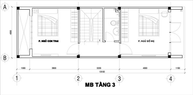 Xây nhà phố 4 tầng mặt tiền chỉ với 1 tỷ tại TP.HCM