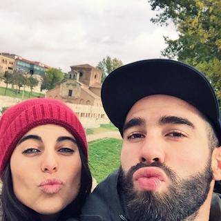 Dani Carvajal And His Girlfriend