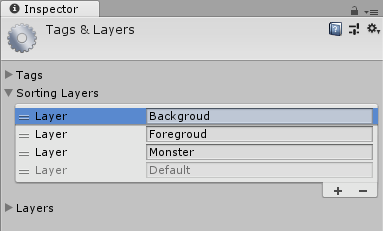 編輯 Sorting layers