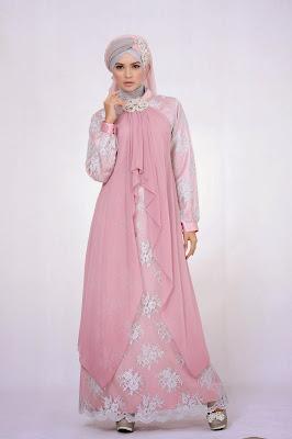 Model Gaun Pesta Muslim Wanita Modern Terbaru