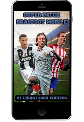 super patch brasfoot mobile, mega pack de patches brasfoot android, super pack patch brasfoot celular, super patches, todas as ligas, patch atualizado bf mobile, brasfoot premium registrado, Brasfoot Mobile - Super Pack de Patches 1.0