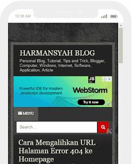 Membuat Menu Navigasi Plus Kotak Pencarian Responsive - Tutorial Blogger