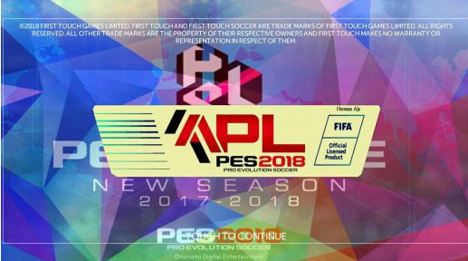 FTS Mod PES 2018 Europa Full Apk by Herman Aja