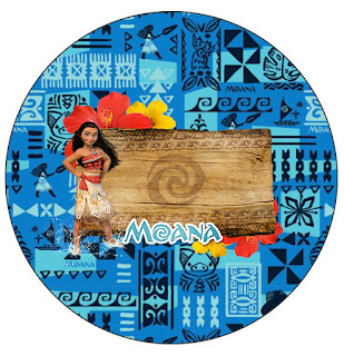Moana Free Printable Cupcake Toppers And Wrappers Is
