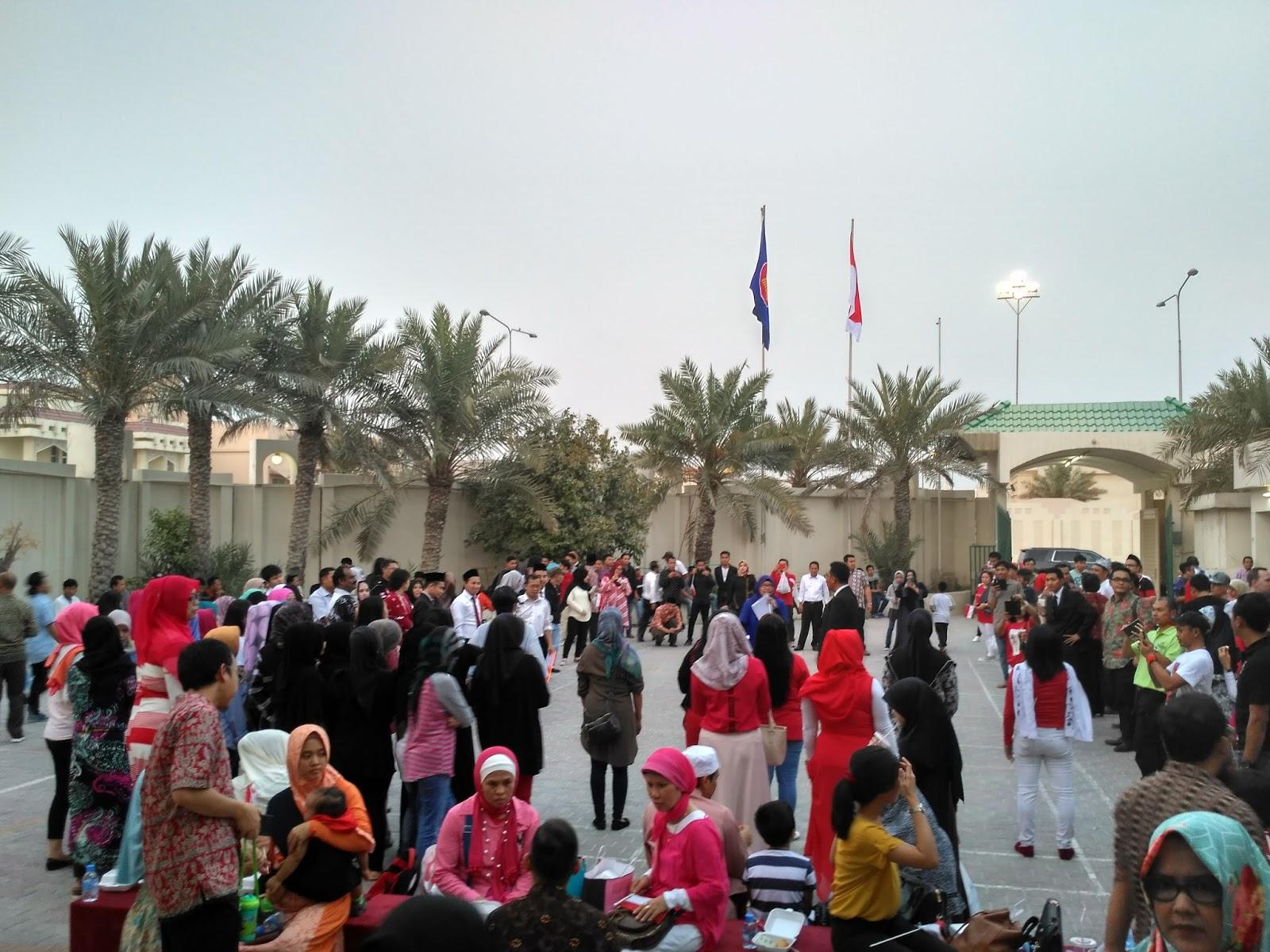 Life Is About Giving Merayakan 17 Agustusan Di Qatar