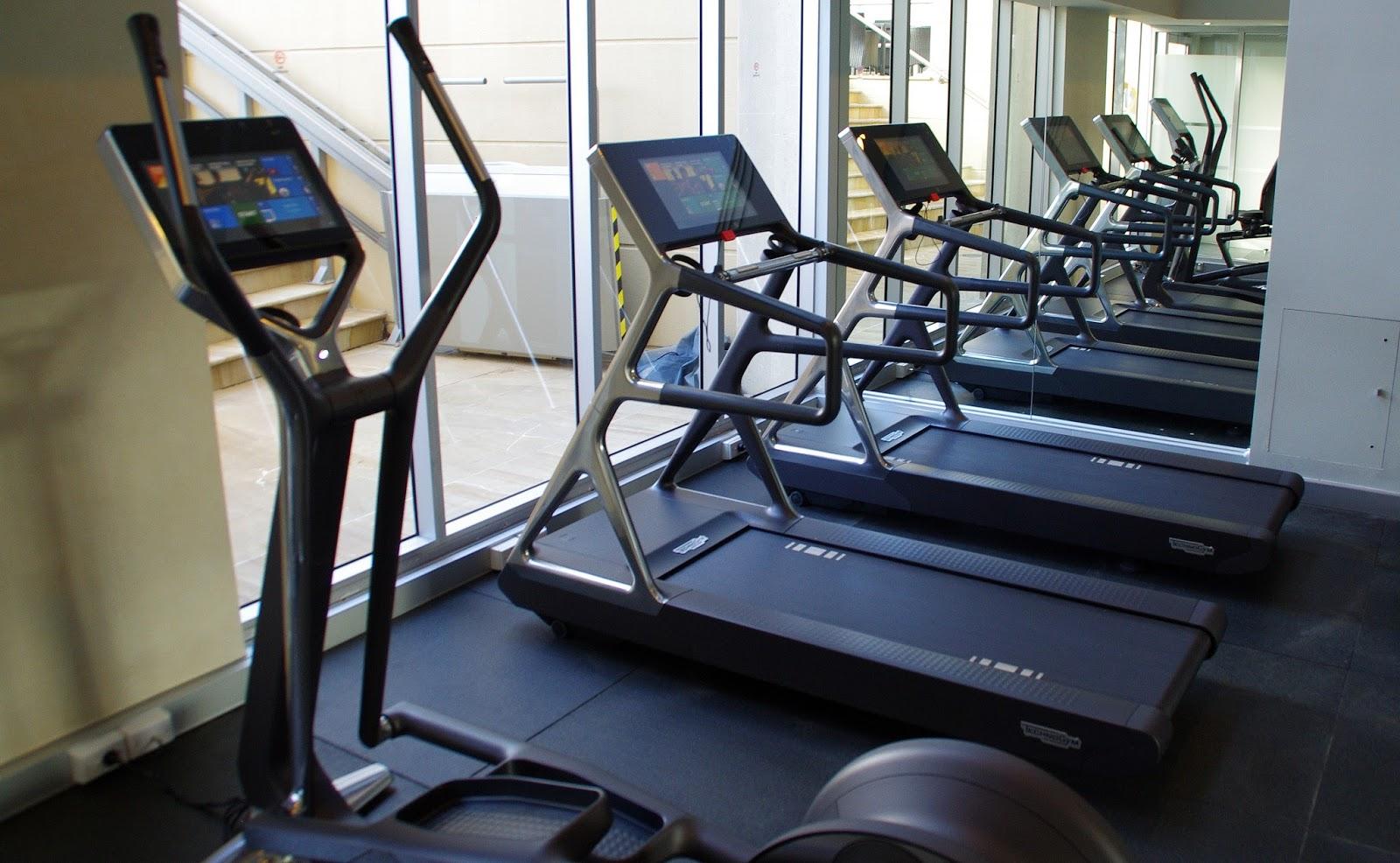 Gym at swissotel