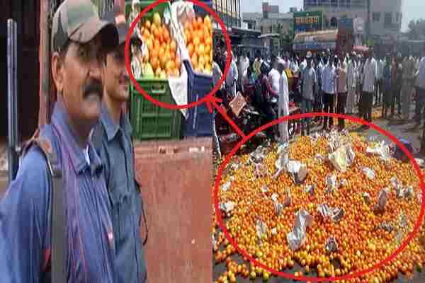 security-gaurd-deployed-for-tomatoes-in-indore-viral-news