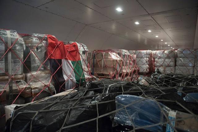 Sheikh Mohammed envia 354.000 em suprimentos ao Haiti