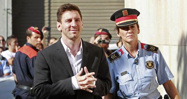 Messi y su padre condenados a prisión por fraude