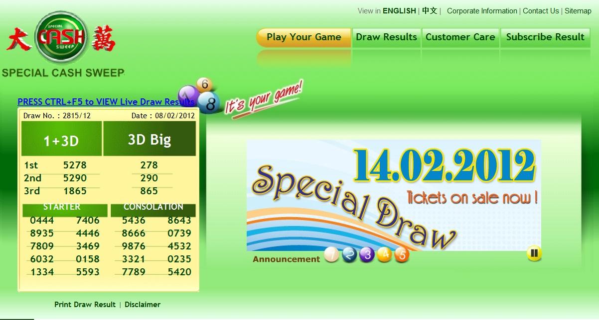 Top 5 Live Magnum 4d Sports Toto Damacai Results @ Check4d