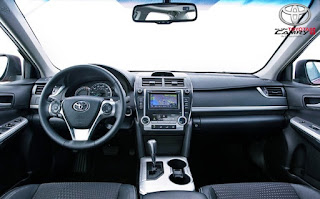 2012 Toyota Camry LE Review Interior