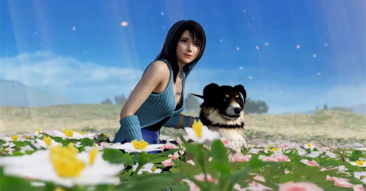 Square Enix Menambahkan Si Cantik Rinoa Heartilly dan Anjing Kesayangannya Angelo Ke Dalam Game Dissidia Final Fantasy NT