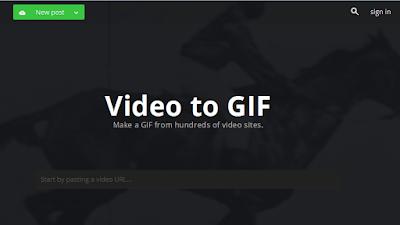 موقع تحويل الفيديو الى صورة متحركة GIF