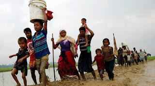 ضغوط دولية علي حكومة ميانمار لوقف نزوح اللاجئين من الروهينجا المتزايد