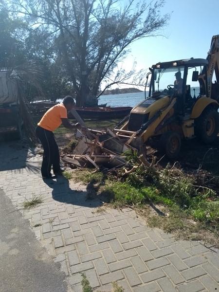 Mais 3 bairros recebem serviços de manutenção em São Pedro da Aldeia
