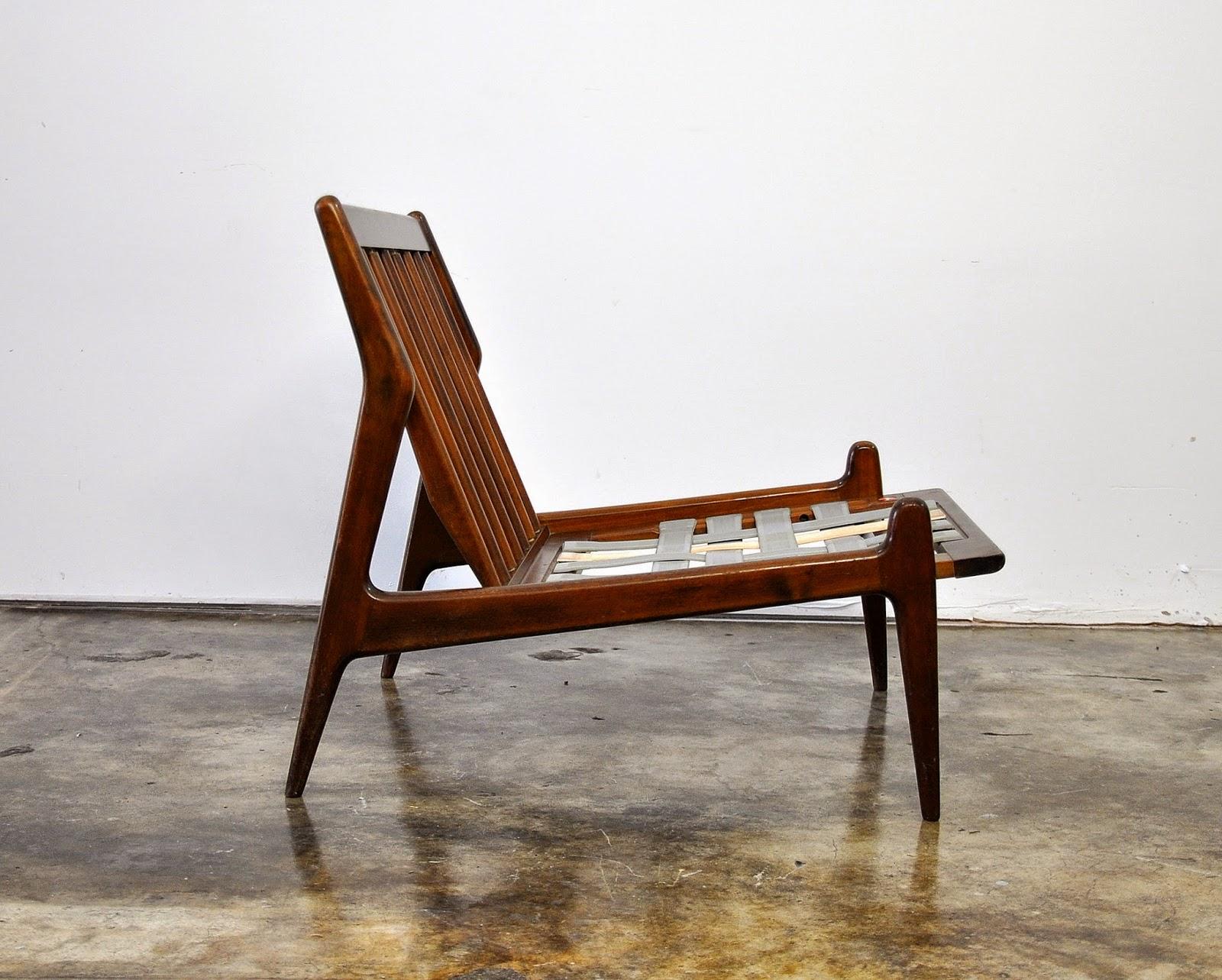 SELECT MODERN Ib KofodLarsen Slipper Chair