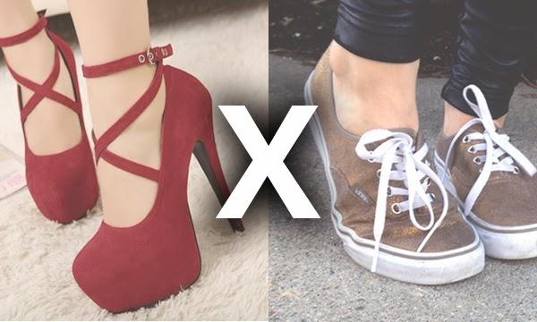 042a257b4 Macho Moda - Blog de Moda Masculina: Enquete MM: Você prefere mulheres de Salto  Alto ou Tênis?
