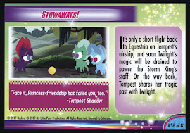 My Little Pony Tempest's Shadowy Past MLP the Movie Trading Card