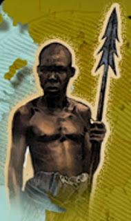 PUNU : L'HISTOIRE DE ''MAVURULU'' un guerrier punu , le Mocab dans la révolte coloniale