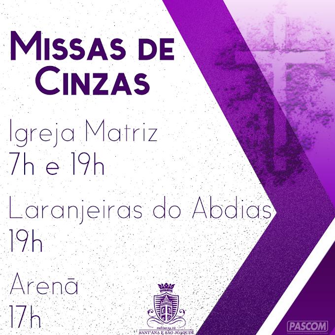 MISSAS DE CINZAS