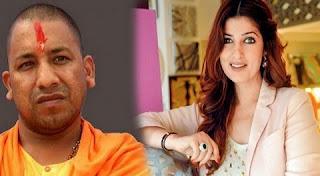 Twinkle Khanna slams Yogi Adityanath