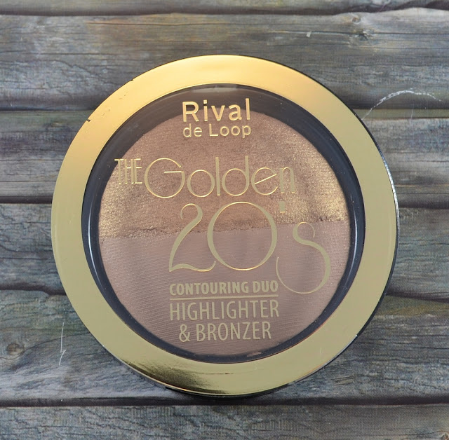 Rival de Loop The Golden 20's LE Contouring Duo Highlighter und Bronzer