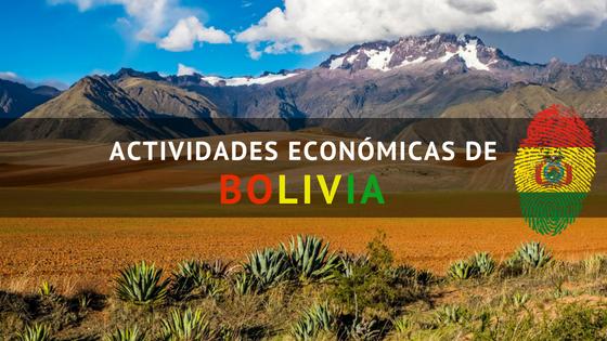 Actividades económicas de Bolivia