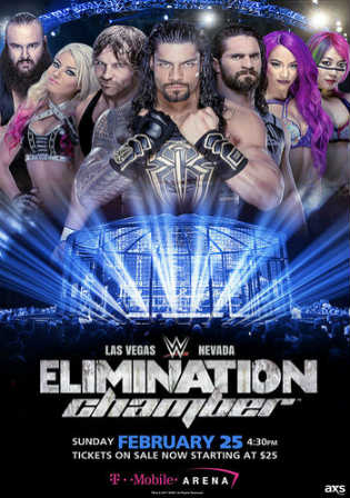 WWE Elimination Chamber 2018 PPV 480p 550MB WEBRip Watch Online Free Download Worldfree4u 9xmovies