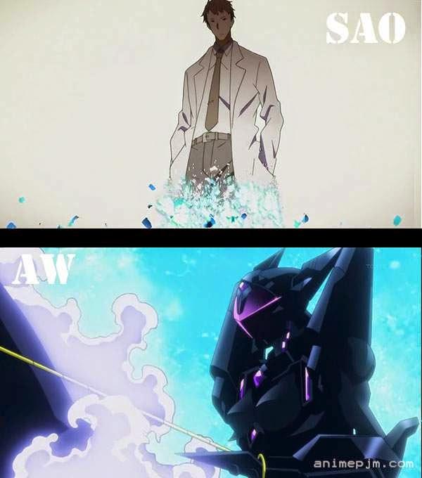 Sword Art Online X Accel World ( SAO X AW ) - penyemangat