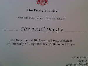 Invite to No 10