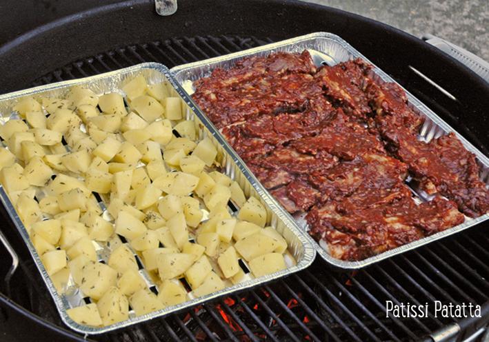Patissi patatta travers de porc et pommes de terre au bbq - Cuisiner travers de porc ...