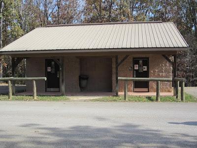 Warrior Trails bathouse