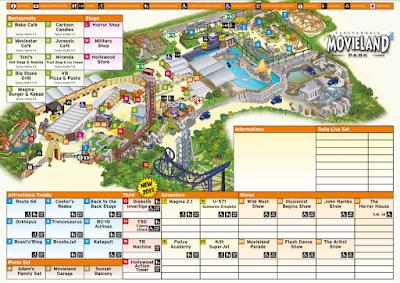 Mappa Movieland Park