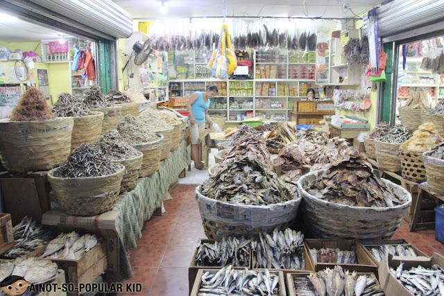 Tabo-an Public Market Dried Fish - Cebu