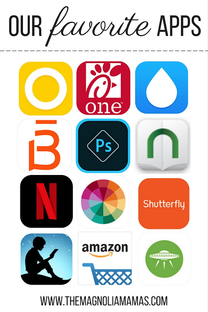 Our favorite apps - some of the best fitness apps, shopping apps, entertainment apps - for moms!