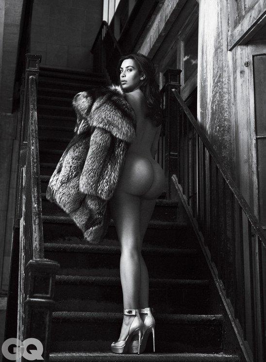Kim Kardashian Strips Bare For Gq July 2016-999