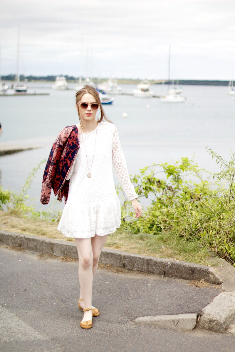 How to style a peplum dress