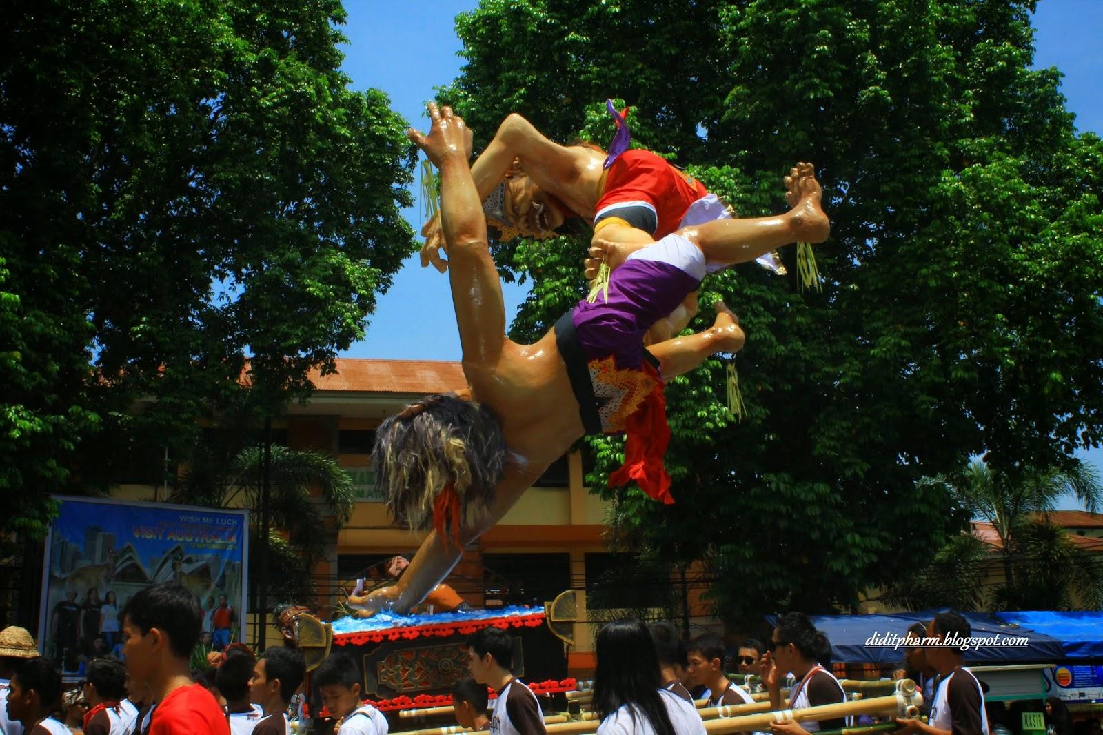 Ogoh Ogoh Is Bali Culture Ceremony Lombok Island Lazwardy
