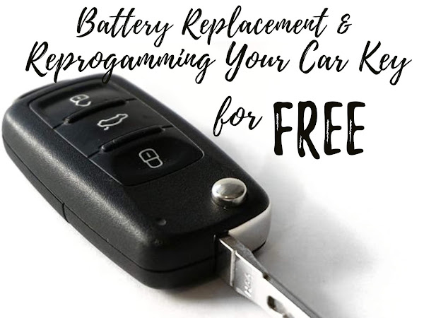 Replacing the Battery & Re-Programming Your Car Key for FREE