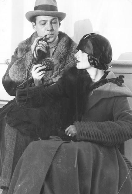 Rudolph Valentino and Natacha Rambova c.1923