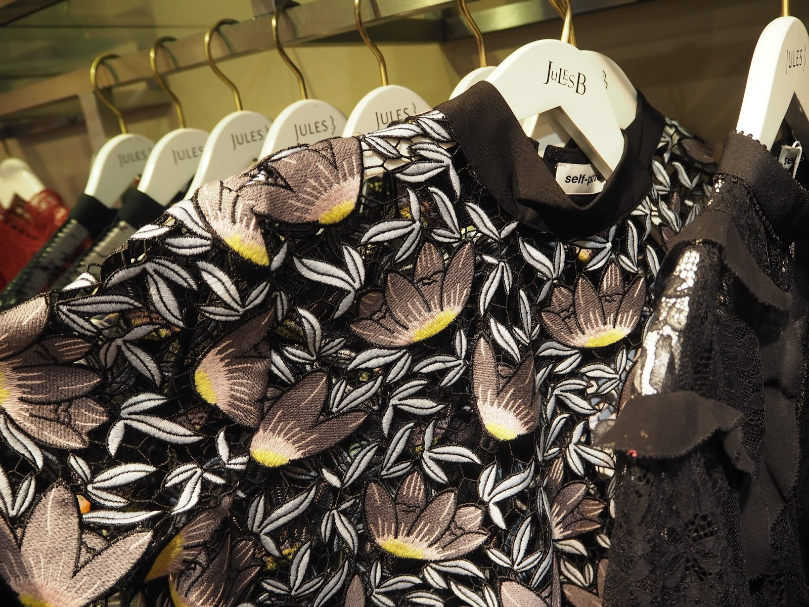 Designer labels at Jules B, Kendal