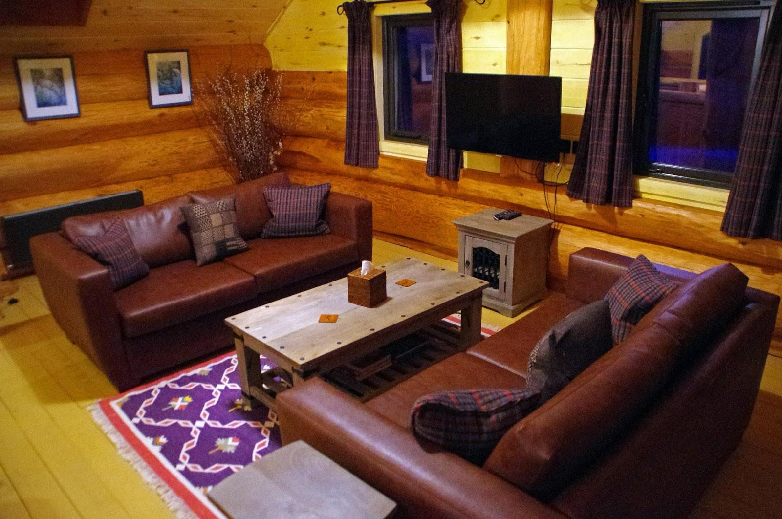 Eagle Brae Log Cabins Scottish Highlands Scotland