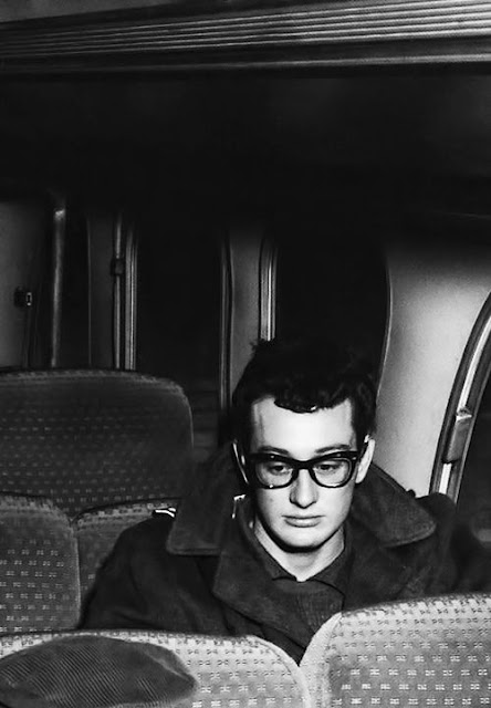 Buddy Holly travelling, 1958