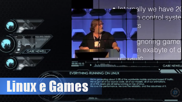 Linux e Games