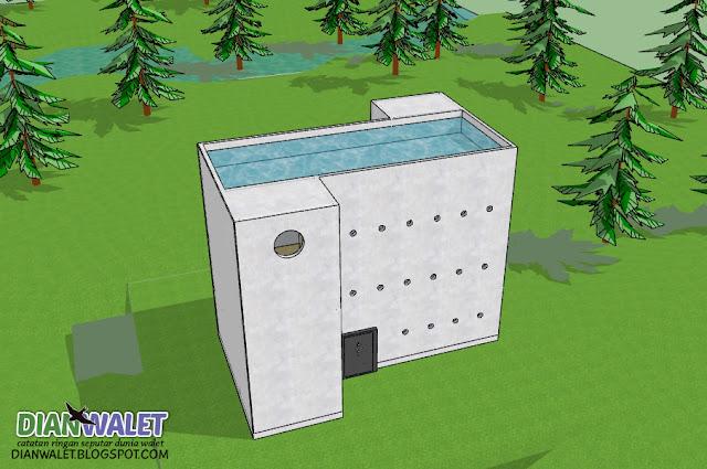 Desain Gedung Walet (RBW) 4X7 3 Lantai dan 2 Rumah Monyet (Full Video)