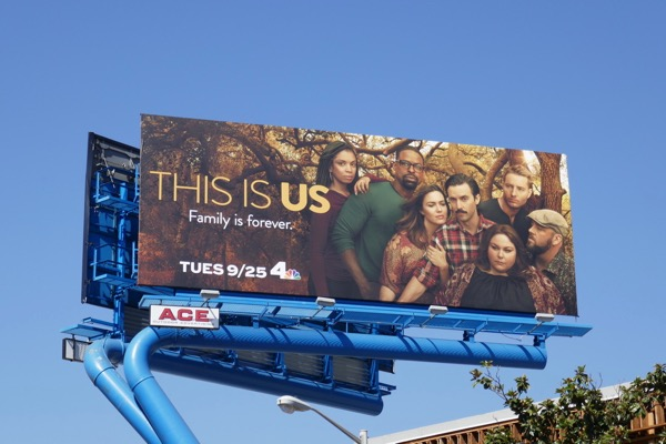This is Us season 3 NBC billboard
