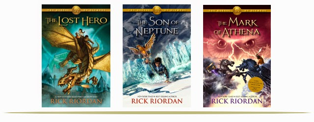 The Heroes of Olympus Book Series for Tweens and Teens  |  www.9CoolThings.com
